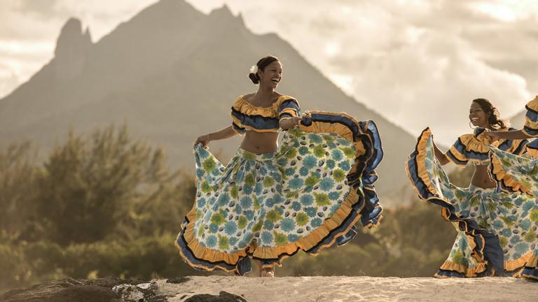 Dancing the sega at the Four Seasons Hotel