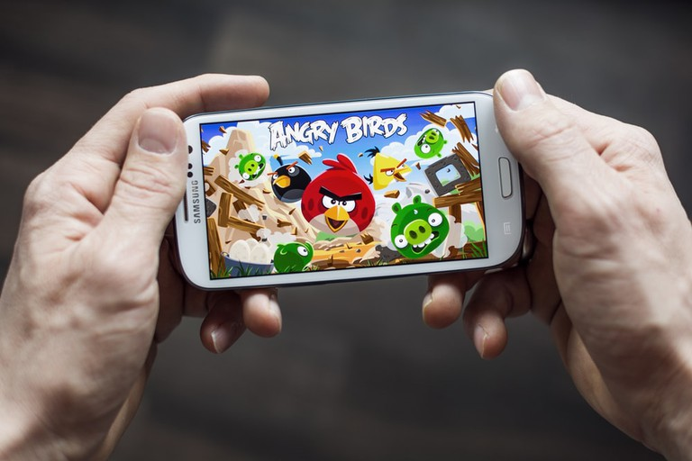 Original Angry Birds app   © Twin Design/Shutterstock