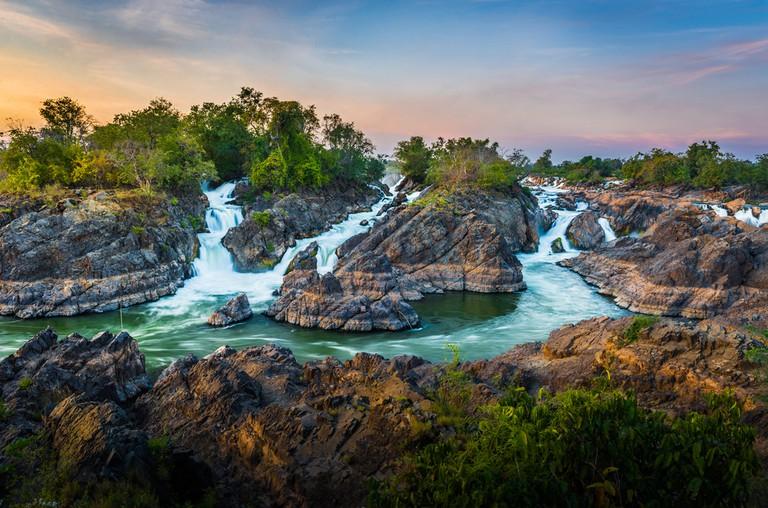 4,000 islands at Champasak, Laos | © By Niti Kantarote / Shutterstock