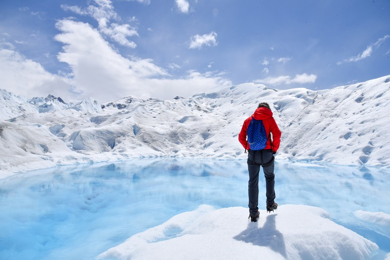 Get up close and personal with the glacier on a Big Ice tour