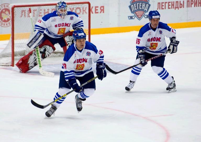 Finnish national Ice Hockey team   © Mitrofanov Alexander/Shutterstock