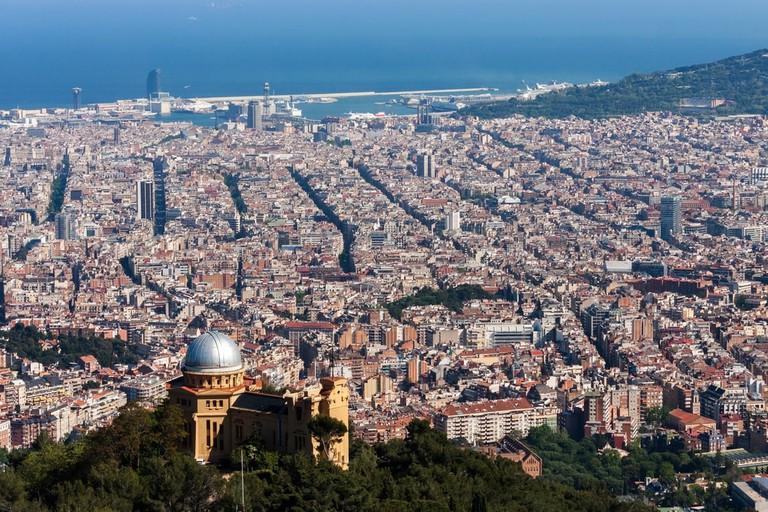 View of Barcelona from Tibidabo | © Andrey Orekhov/Shutterstock