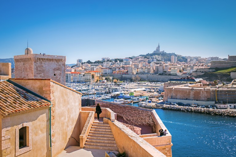 Take the time to wander the galleries and beautiful buildings in Marseille