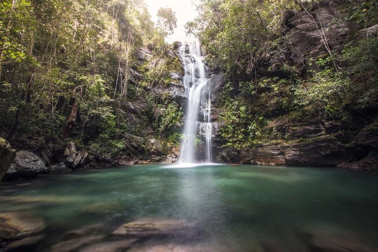 Cachoeira Santa Barbara, Chapada dos Veadeiros