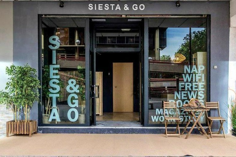 Siesta & Go is located in Madrid's financial district