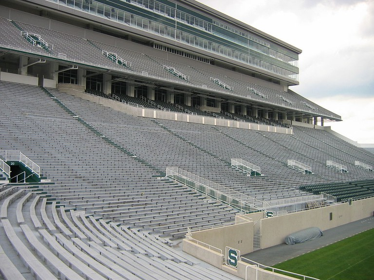 Spartan Stadium at MIchigan State University | Greenstrat / Wkimedia Commons