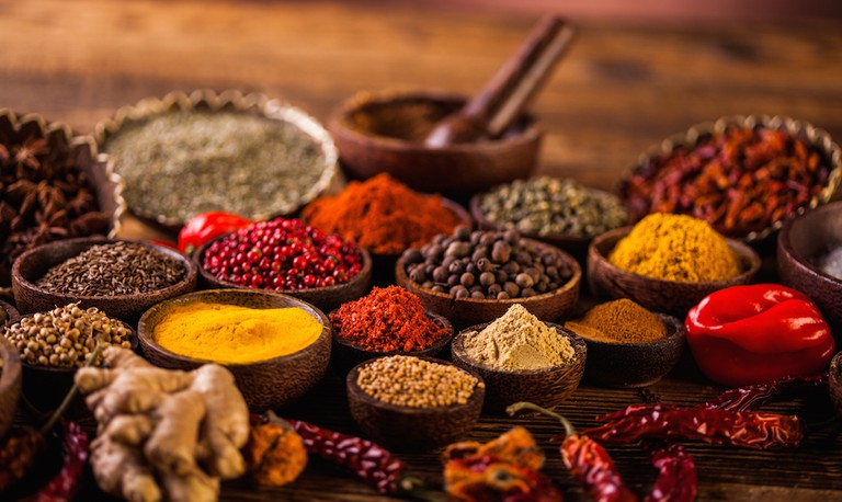 One of the best souvenirs to buy in Mauritius: traditional locally produced spices