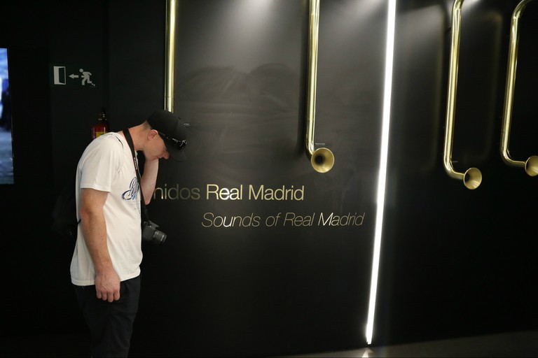 Take a tour of Real Madrid's stadium