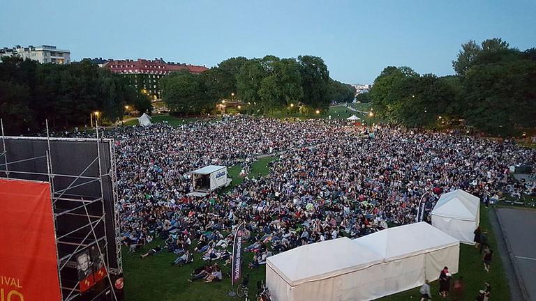 Stockholm Film Festival Summer Cinema / Photo courtesy of Wikipedia Commons