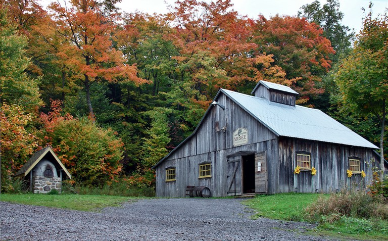 A sugar shack in Quebec