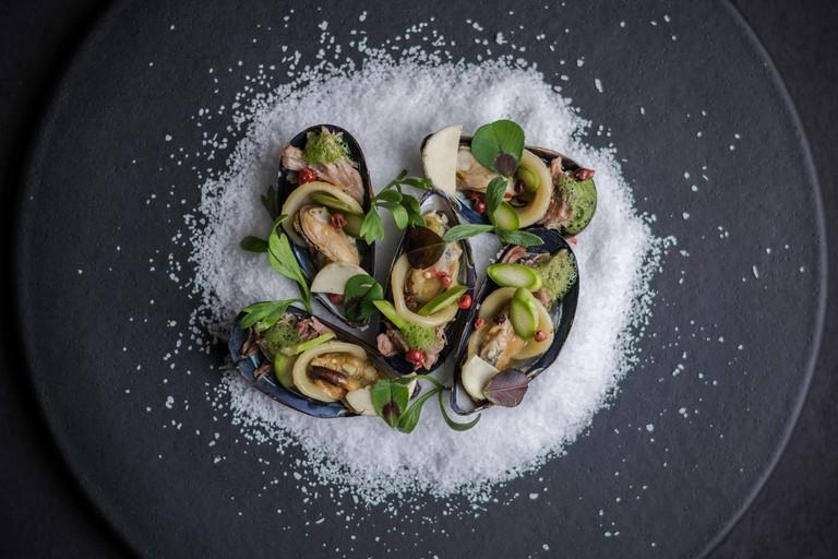 Surf Turf Lamb Mussels: Jenny Dorsey