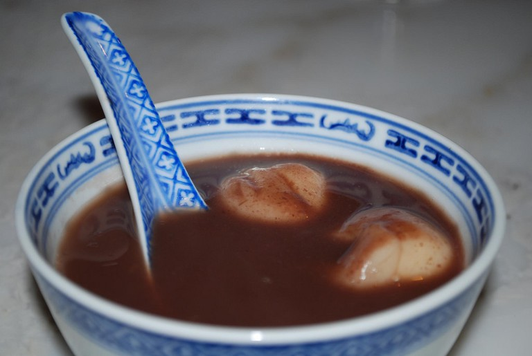 Sweet red bean soup I