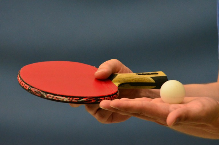 A friendly game of table tennis to break the ice / Photo courtesy of Pixabay