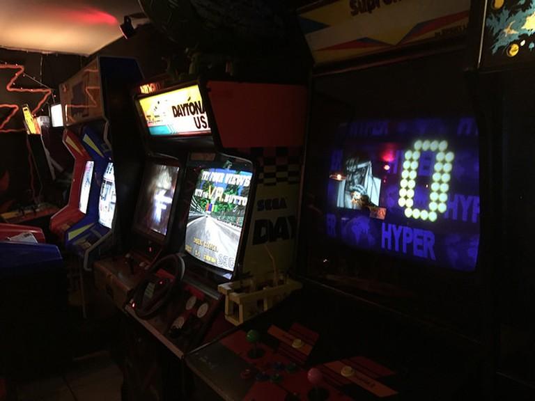 The Four Quarters offers a host of retro arcade games