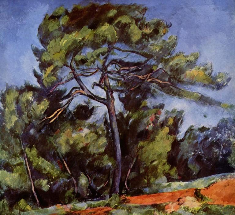 The Great Pine, Paul Cézanne