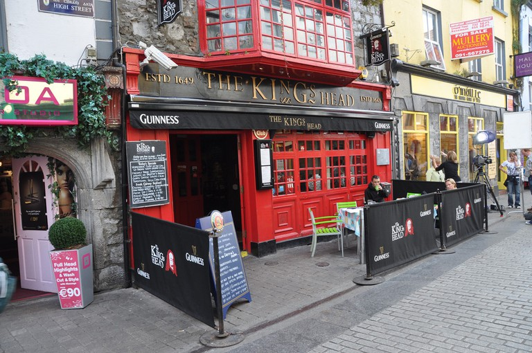 The Kings Head Pub, High Street, Galway