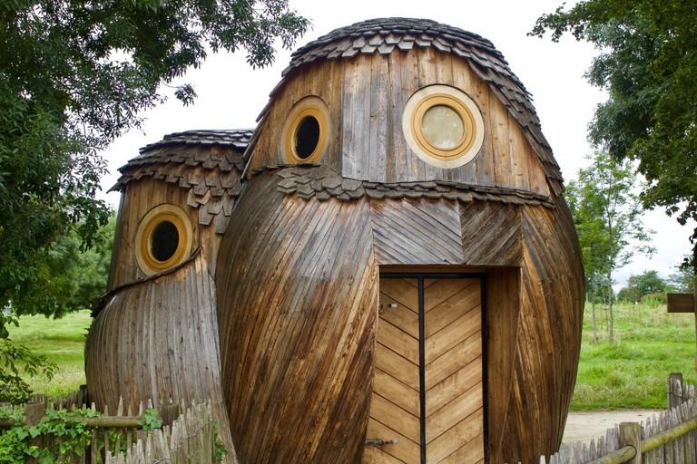 The Owl-Shaped Cabines at Les Guetteurs' refuge │© Jennifer Migan
