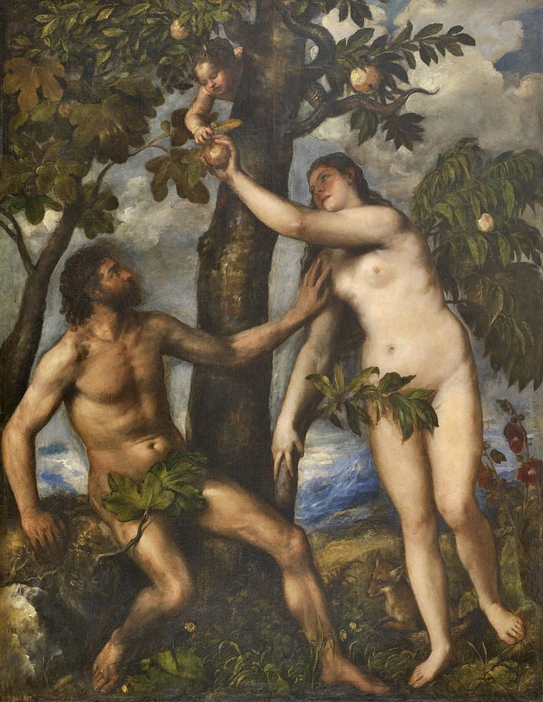 Titian, Adam and Eve (1550) | The Yorck Project/WikiCommons
