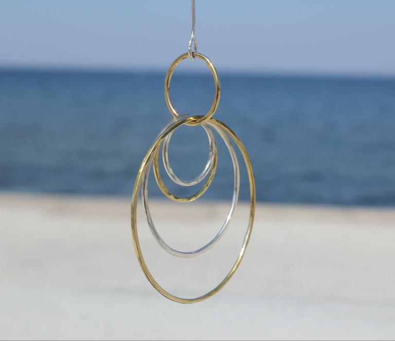 Toini Berg's unique jewellery designs / Photo courtesy of Toini Berg Designs