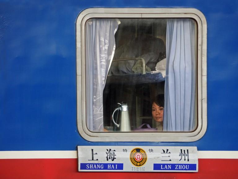 China train passengerl I © Christel