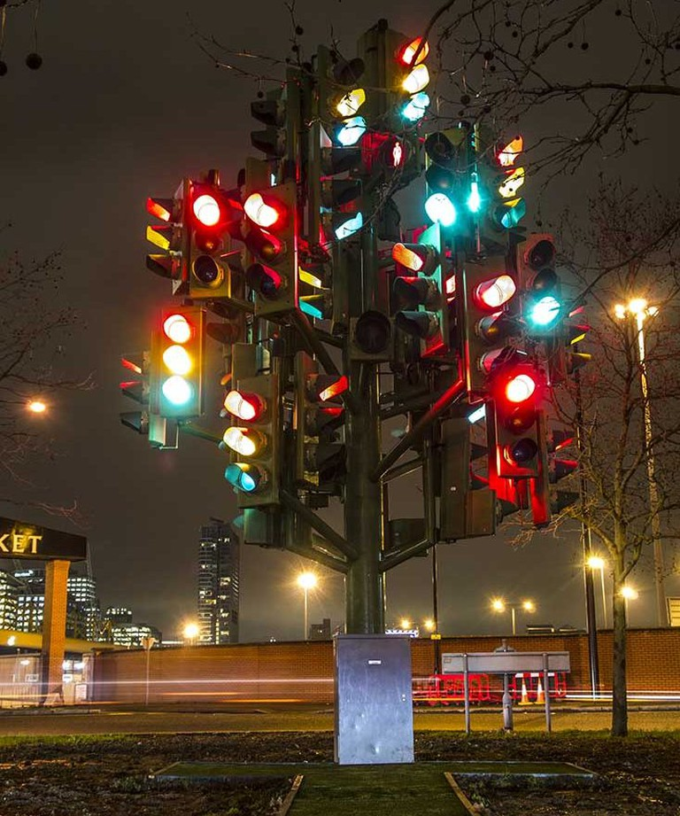 Pierre Vivant, Traffic Light Tree, 1988