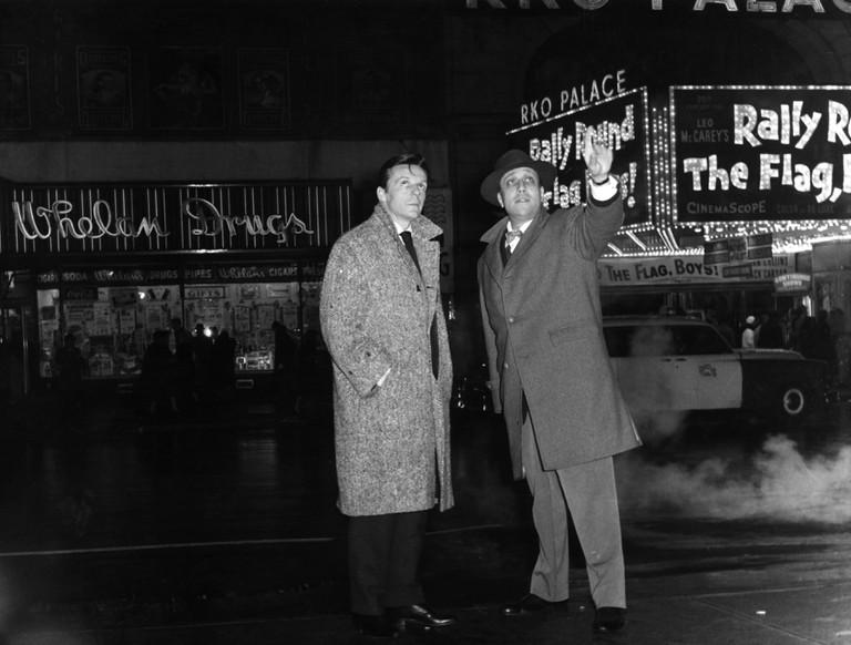 Pierre Grasset and Jean-Pierre Melville | © BFI