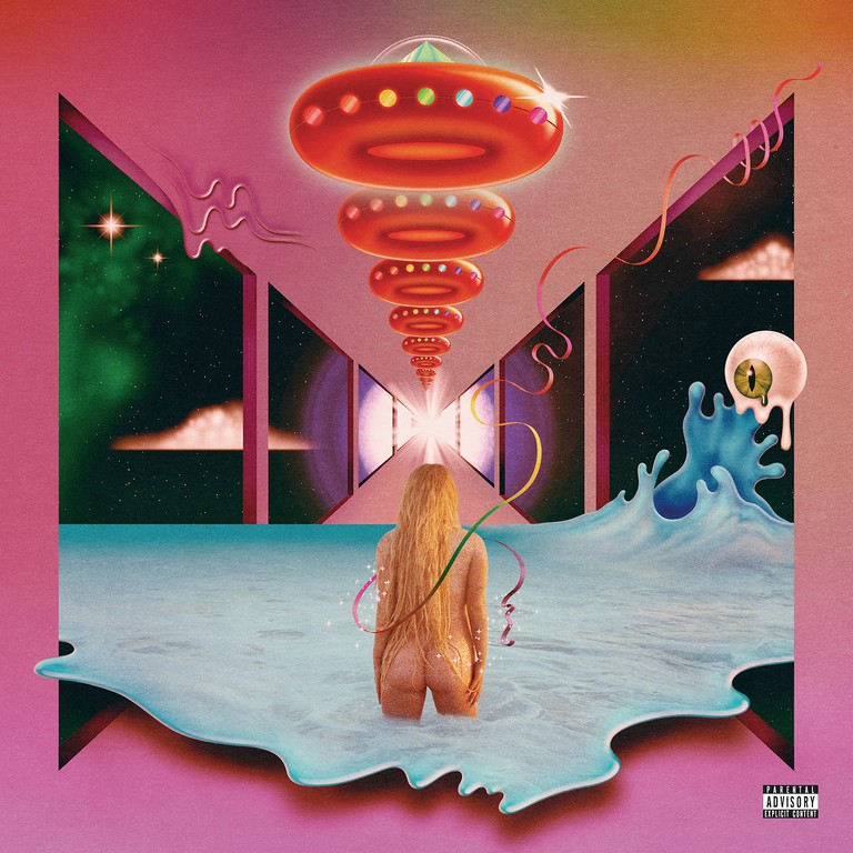 Kesha 'Rainbow' album cover © RCA Records
