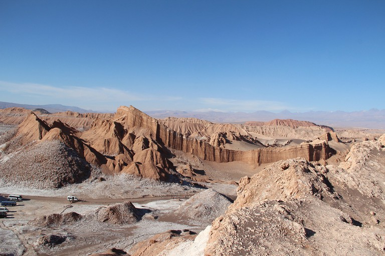 Valley of the Moon, San Pedro Atacama: one of many organized tours available in Chile