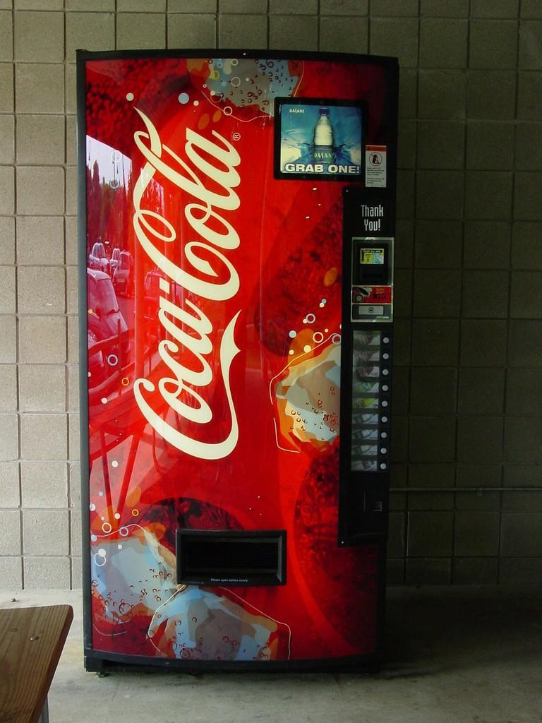Coca-Cola® vending machine