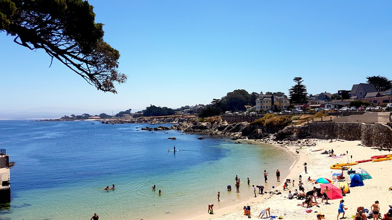 View from Lovers Point in Monterey, Pacific Grove