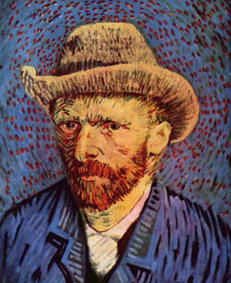 Vincent Van Gogh's self-portrait