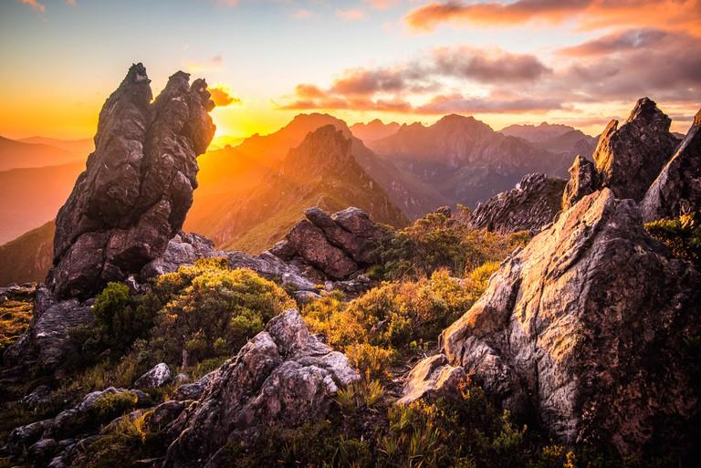 Western Arthur's Range, Tasmania.