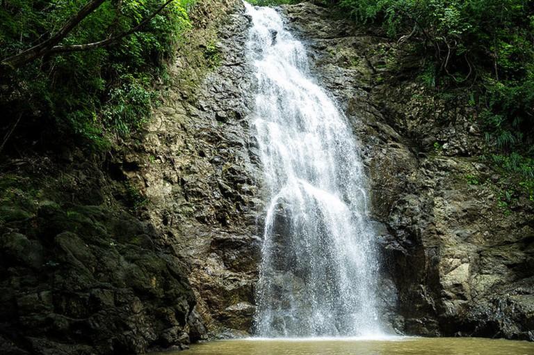 Walk to a waterfall