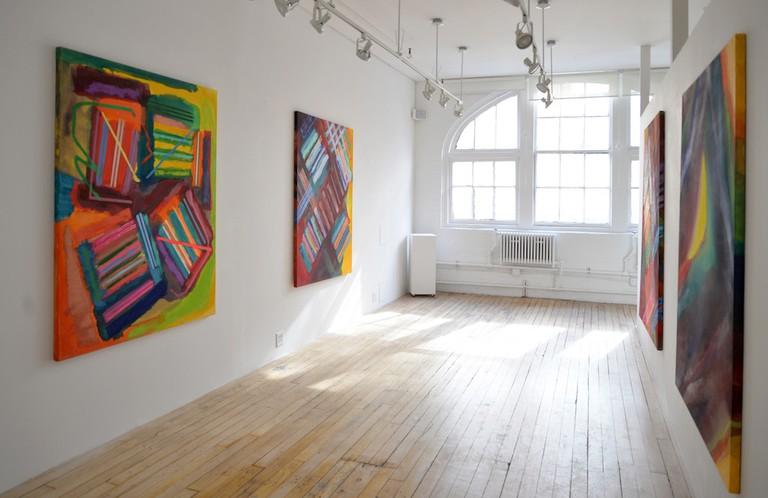 West Gallery, Installation 1, February 2016 | Courtesy of Carter Burden Gallery