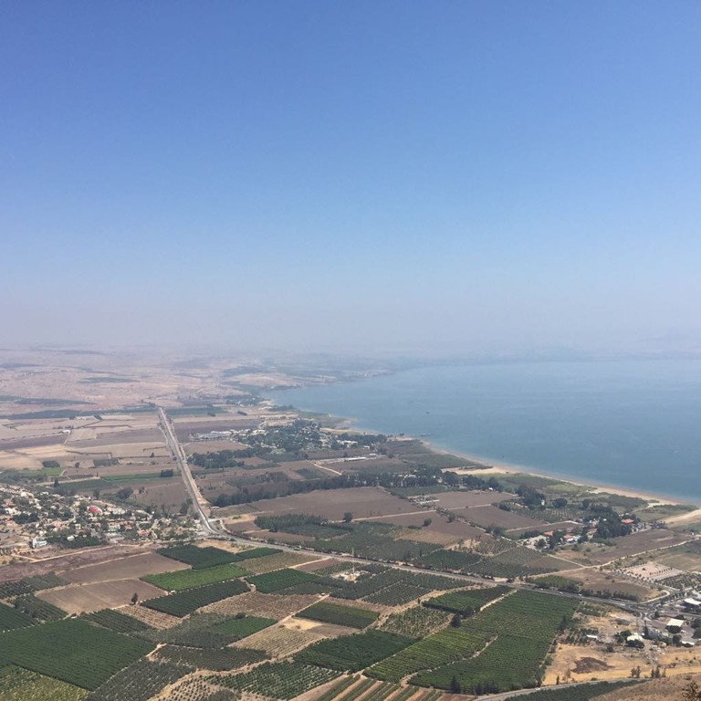The Sea of Galilee/Kinneret. Photo: Becca Gomby