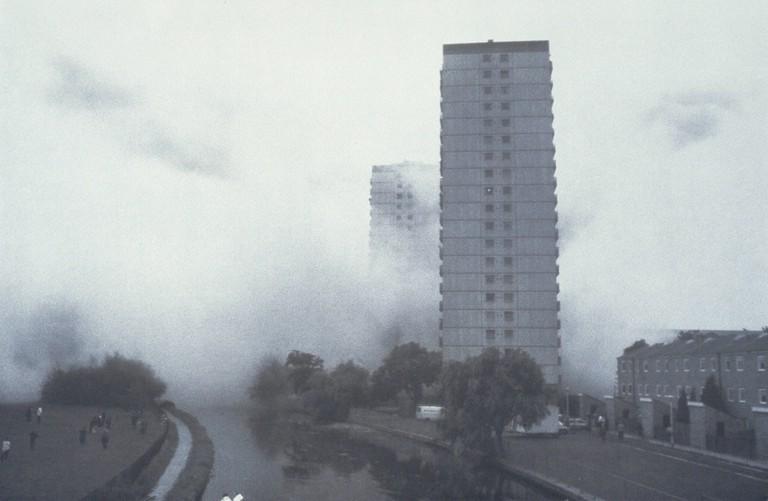Rachel Whiteread, A: Clapton Park Estate, Mandeville Street, London E5; Ambergate Court; Norbury Court; October 1993, 1996