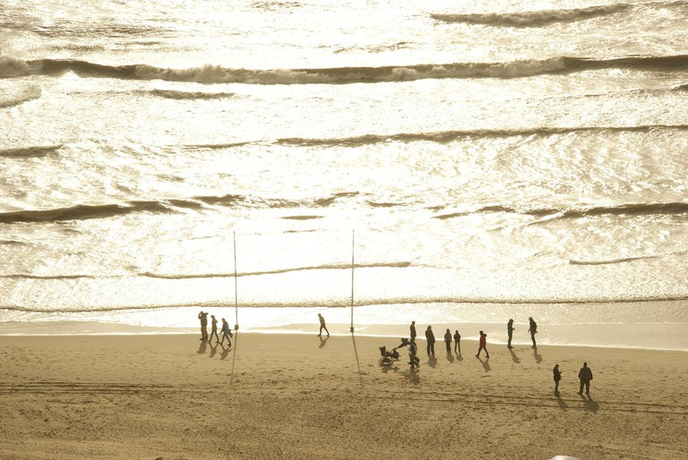 Zandvoort aan Zee's beach
