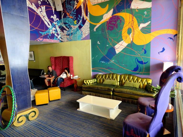 Triton Hotel, Grant Street and Bush Street, San Francisco