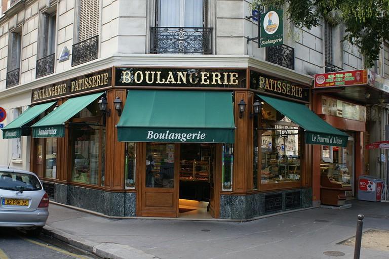 Boulangerie, 155 rue d'Alésia, Paris, France (monument historique)