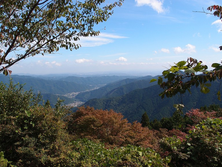 A view from Mount Mitake