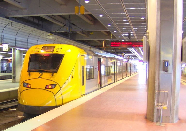 Arlanda Express gets you to the city in 20 minutes