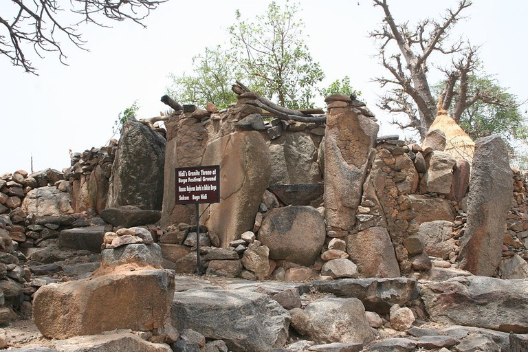 Stone formation at Sukur