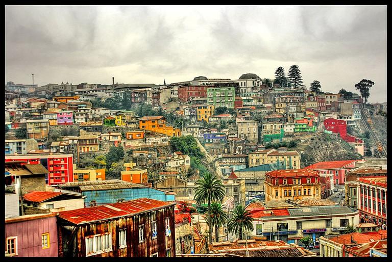 View of Valparaíso | © Tania Ruiz/WikiCommons