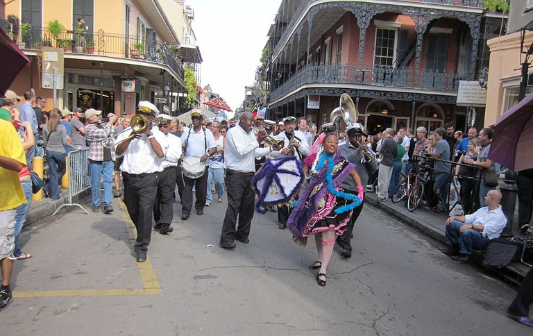 Second Line, New Orleans | © Infrogmation of New Orleans /Wikimedia Commons