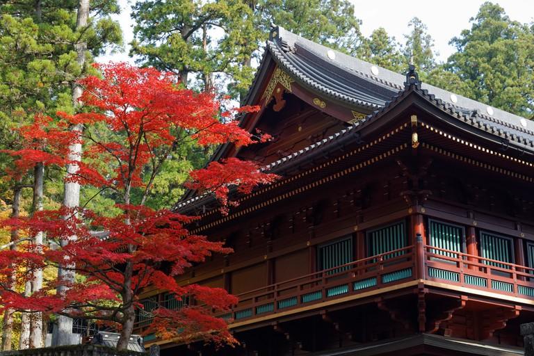 Rinno-ji in autumn