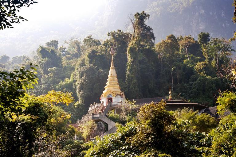 Wat Tham Pha Plong | © Andrea Schaffer / Flickr