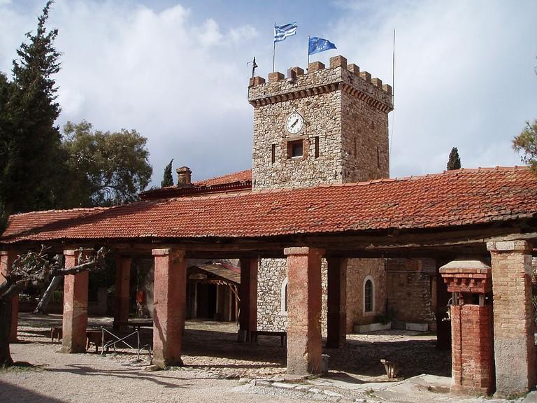 Achaia Clauss winery: the Danielis cellar