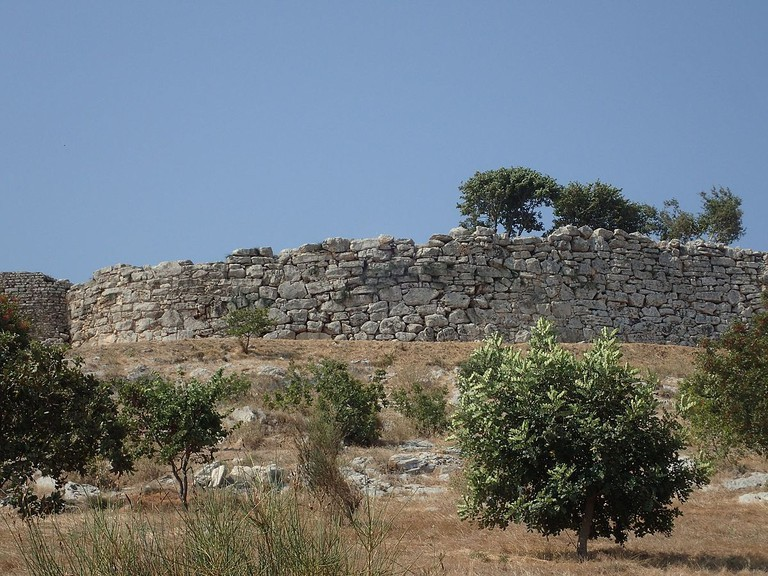 Northern section of the Dymaean Wall
