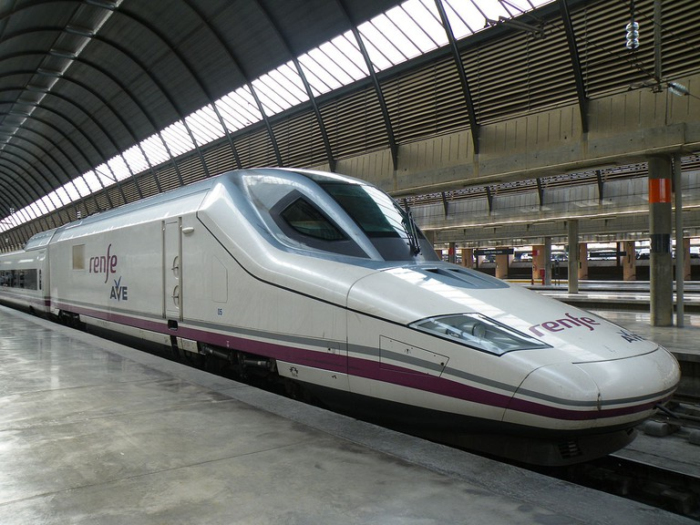 Spain's AVE trains are very fast