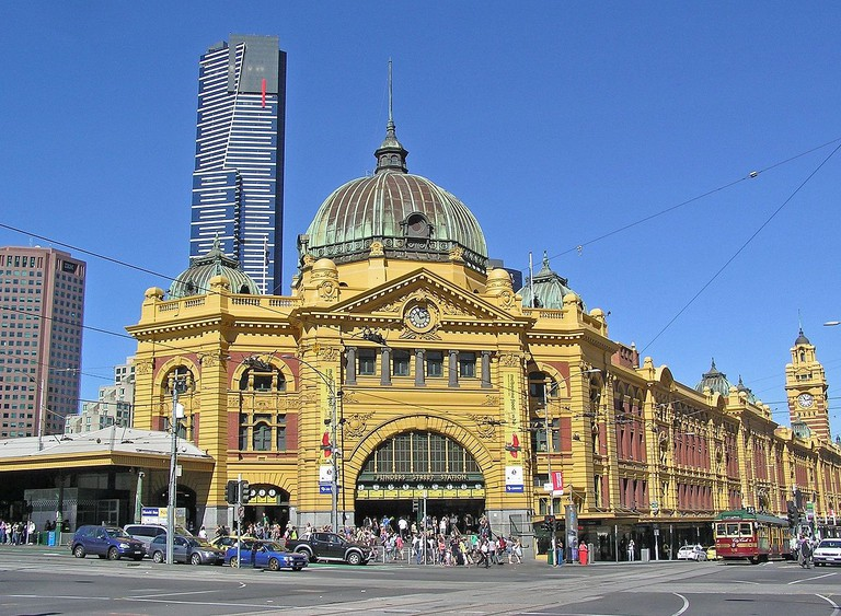 Melbourne Flinders St. Station